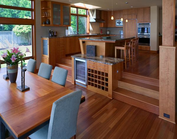 Split Level Home Designs For A Clear Distinction Between Functions