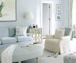 Dipped in Water: Monochromatic Rooms