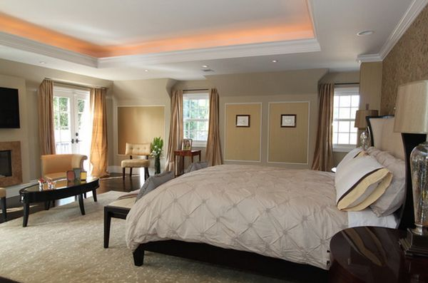 The best lighting sources for your dreamy bedroom Master bedroom lighting ideas vaulted ceiling
