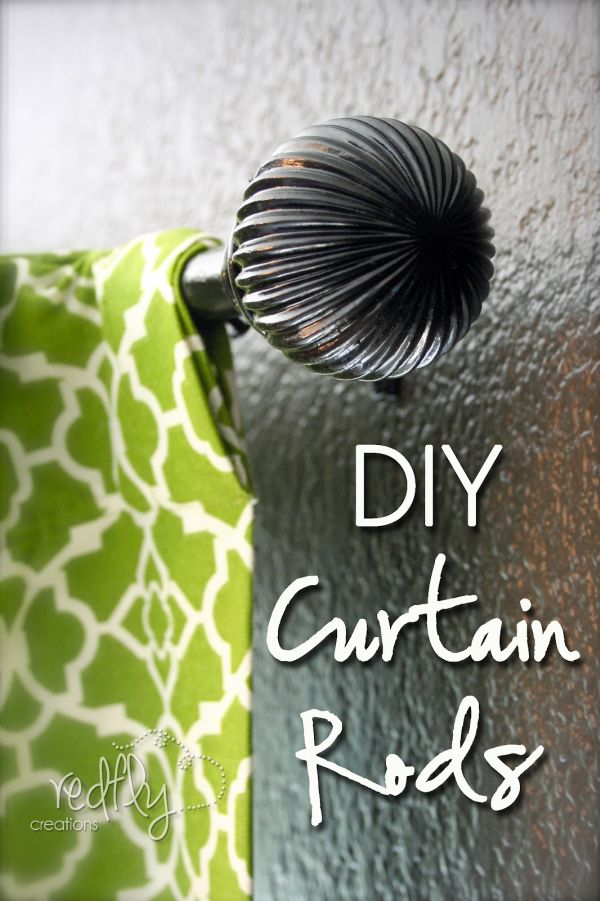 Use Them As A Curtain Rod End, Or To Replace One.