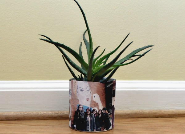 customized photo planter