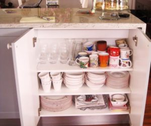 Organized Buffets: Let's Look Inside & On Top