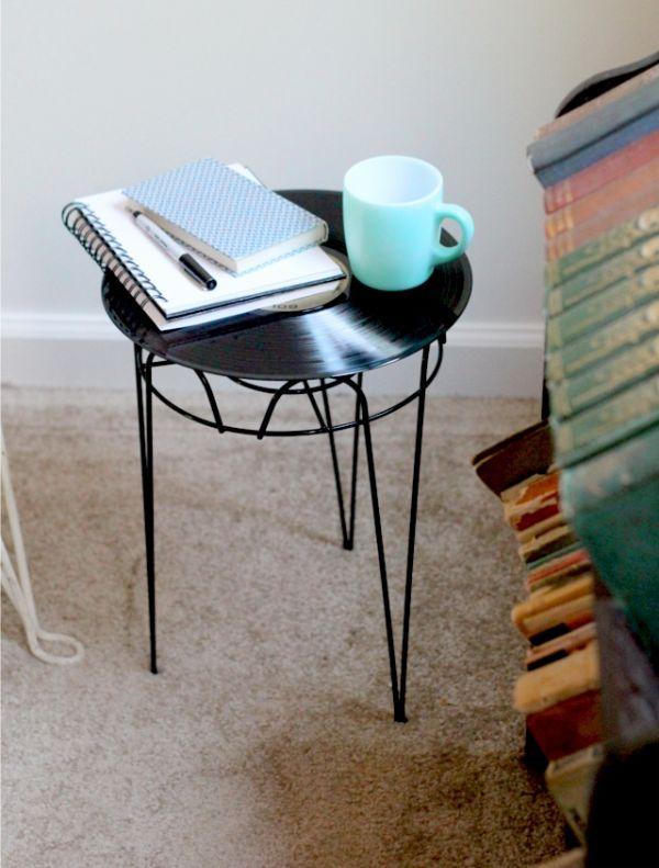 Superieur Vinyl Coffee Table.