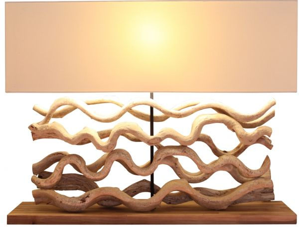 Contemporary lighting that captures natures beauty view in gallery another take on how driftwood can make a table lamp mozeypictures Image collections