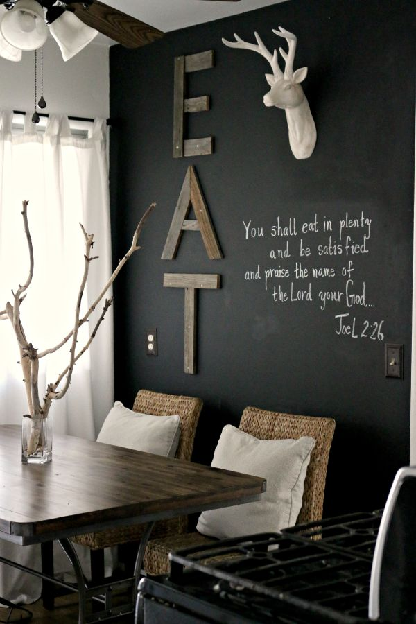 How To Creatively Use Chalkboard Paint Around The House