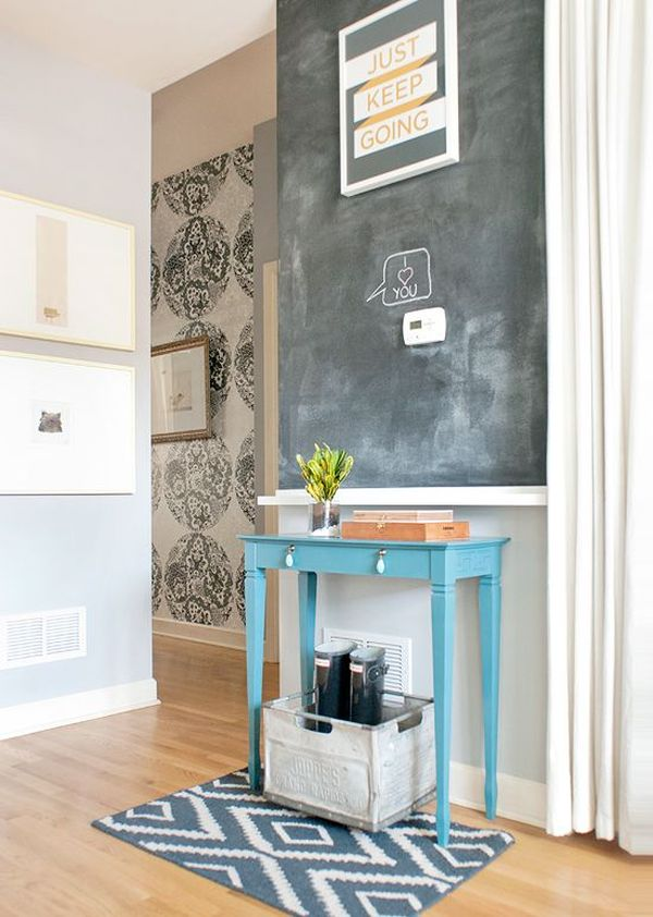 Can You Use Chalkboard Paint On A Wall