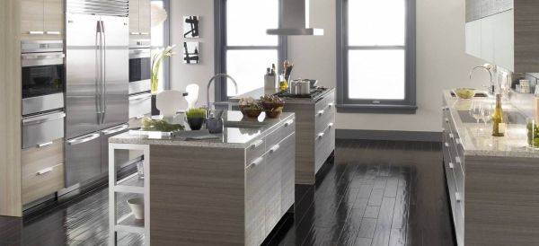 Kitchen Ideas Gray silver kitchens: ideas & inspiration