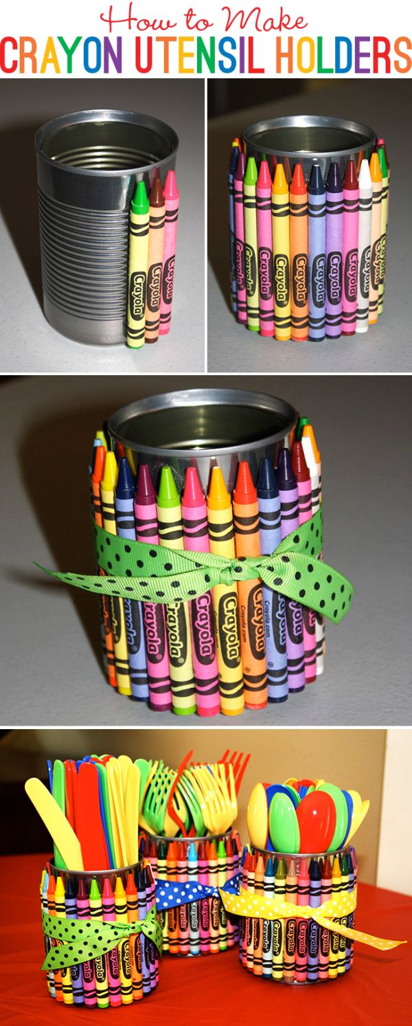 Kids Craft Ideas With Wipe Containers