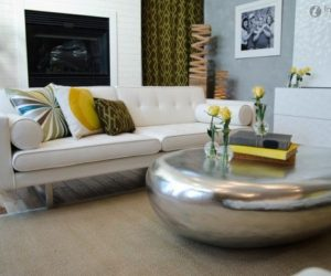 Modern Metallic Coffee Tables