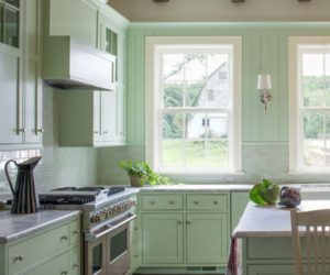 Dipped in Mint: Monochromatic Rooms
