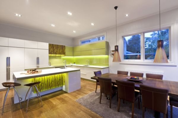 Keeping the Cozy in a Contemporary Kitchen