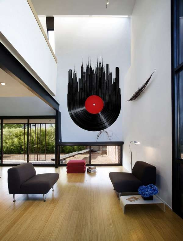 Etonnant Musically Inspired Wall Decals.