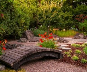 Fill In The Lacking Beauty In Your Garden With A Bridge
