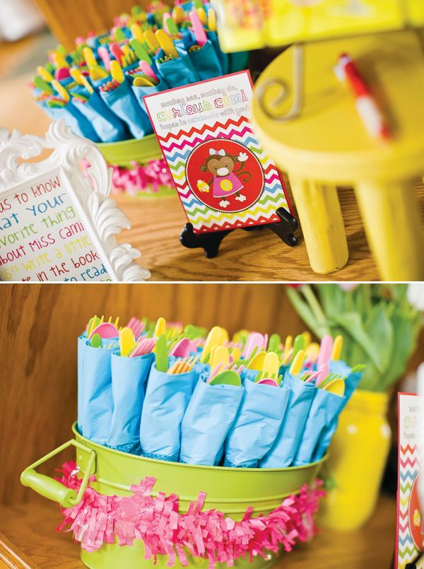 organized utensils - Party Decorating Ideas