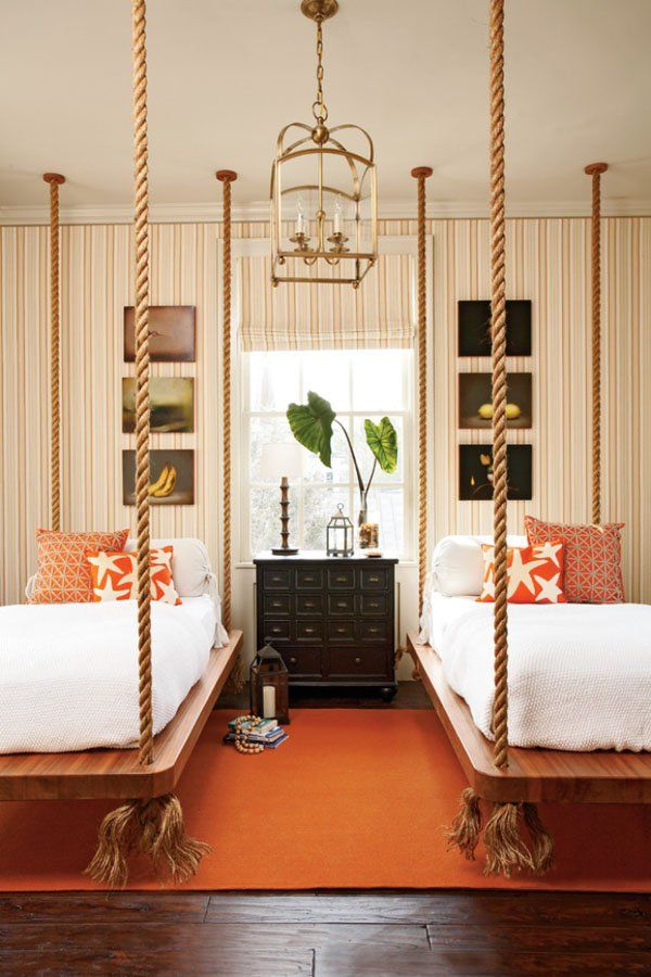 Add Rustic Charm To Your Home With Rope-Hanging Accent ...