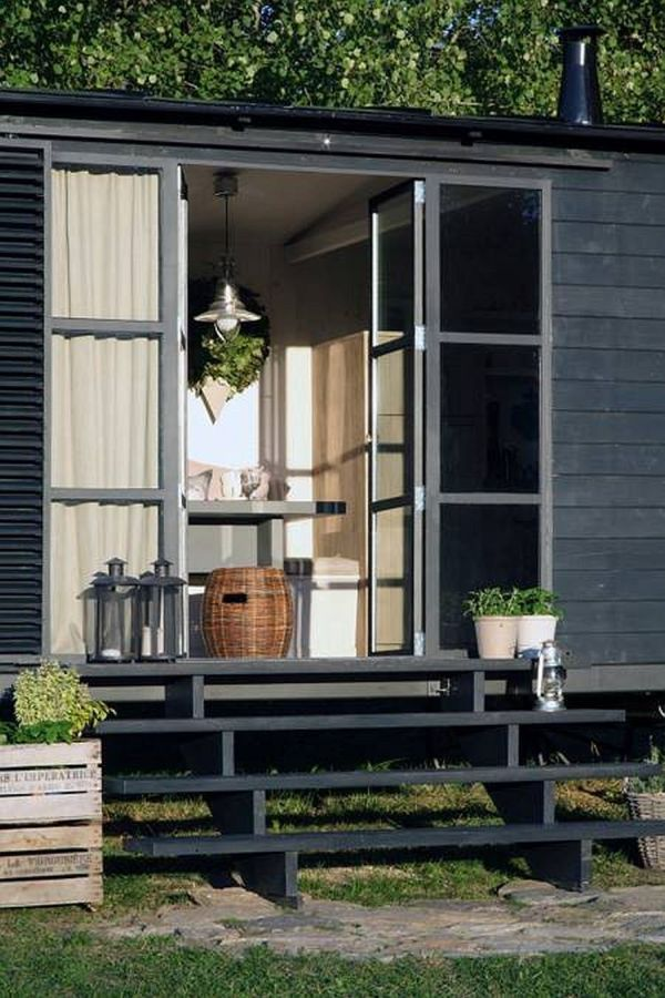 black house with porch the perfect adventure homes tiny mobile and on wheels
