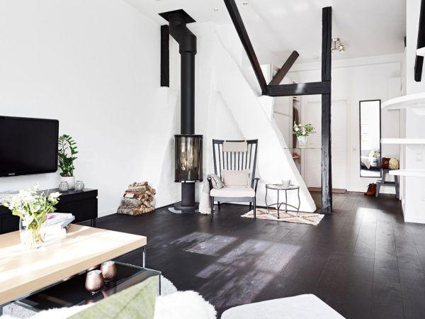 Striking Scandinavian Apartment – Warm Whites & Simple Style