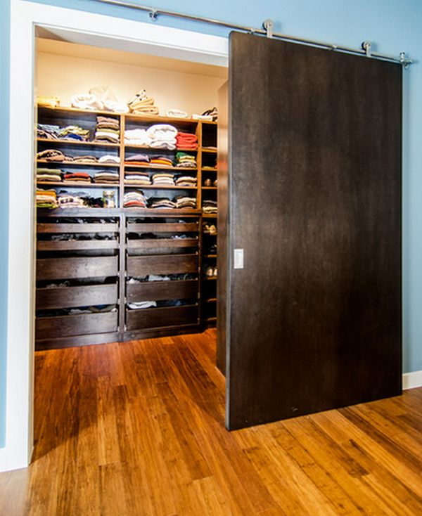 closet wood panel doors double sliding closets pocket for interior barn