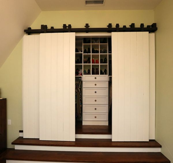 View in gallery & Closet Door Designs And How They Can Completely Change The Décor