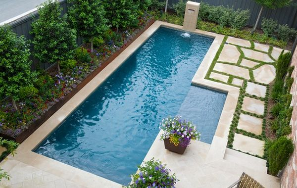 Swimming Pool Designs Small Yards pool designs for small backyards best 25 small backyard pools View In Gallery
