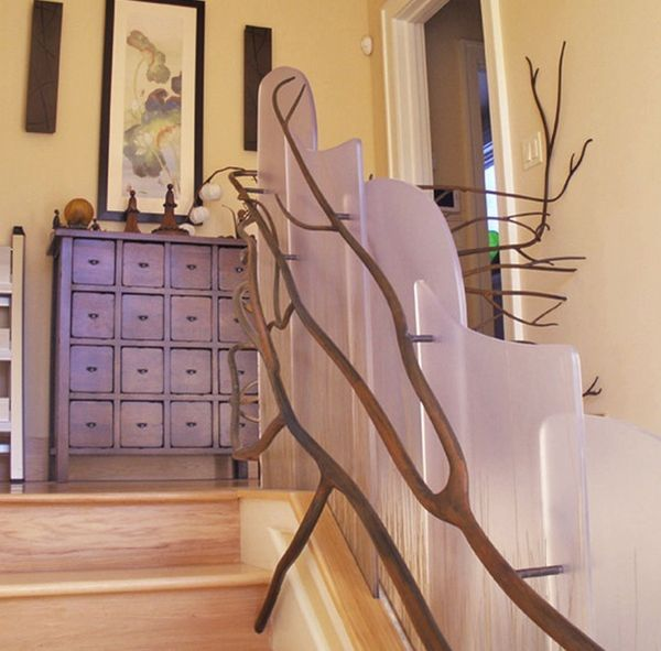 easy modern stairs design indoor. View in gallery 10 Ingenious Staircase Railing Ideas To Spruce Up Your House Design