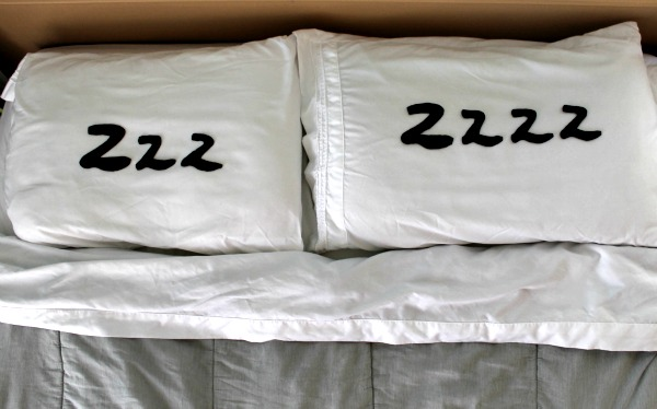typographic pillows