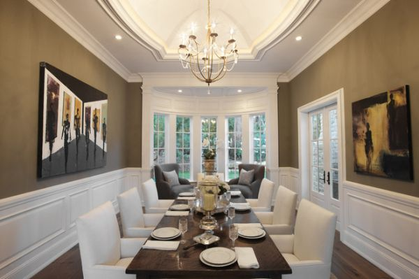 Unique dining room layouts ideas inspiration for Dining room window designs