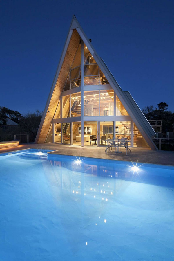 10 A-frame House Designs – For A Simple Yet Unforgettable Look