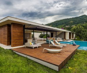Modern Country Home In Colombia Adorns The Landscape With Its Refreshing Design