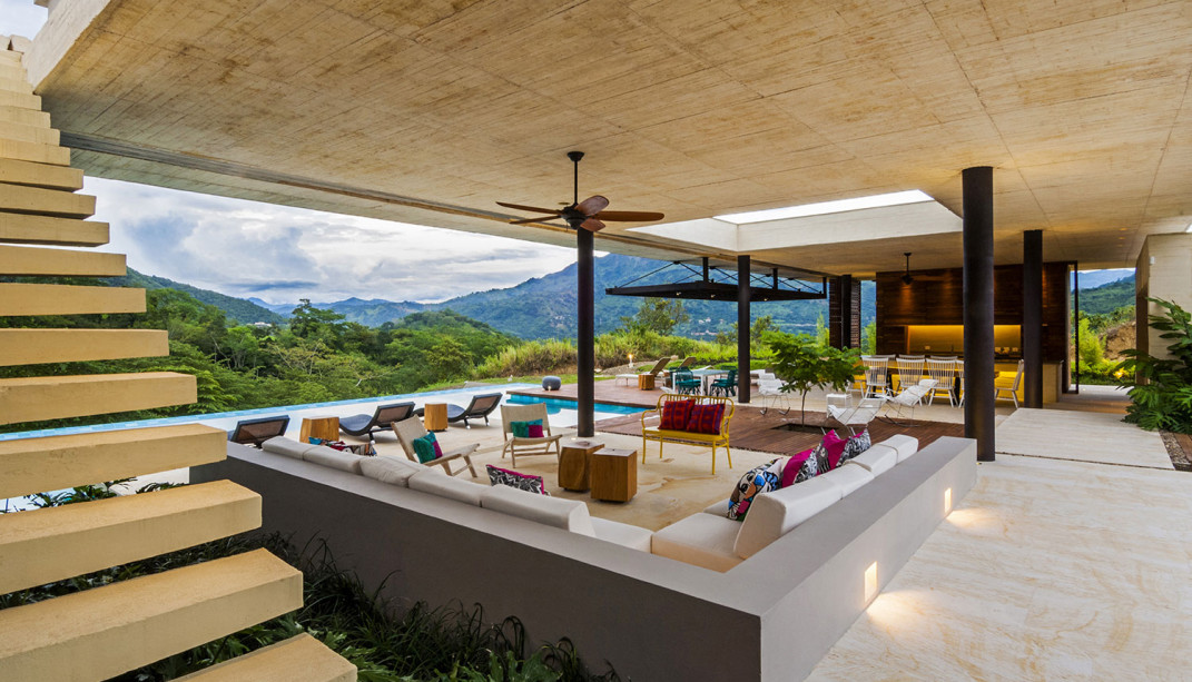 Modern Country Home In Colombia Adorns The Landscape With Its