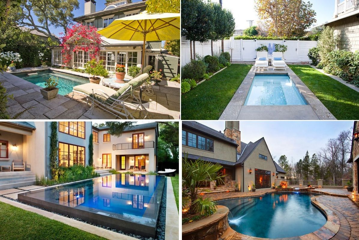 Spruce Up Your Small Backyard With A Swimming Pool 19 Design Ideas