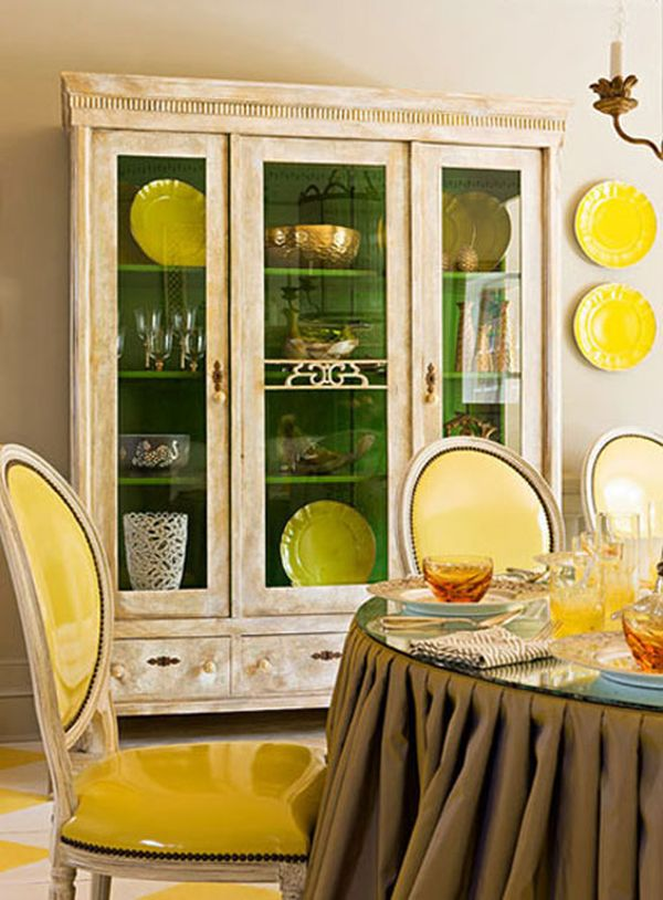 Whats Inside The China Cabinet Organized Styled