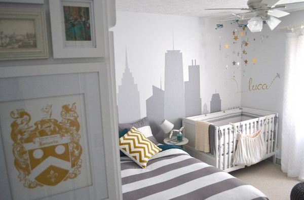Gray Nursery Decor21 Gorgeous Ideas