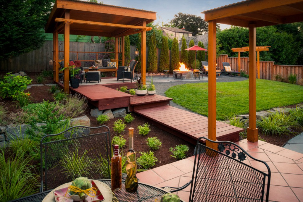 Heavenly backyard. - Million Dollar House Ideas – What Makes A House Expensive These Days