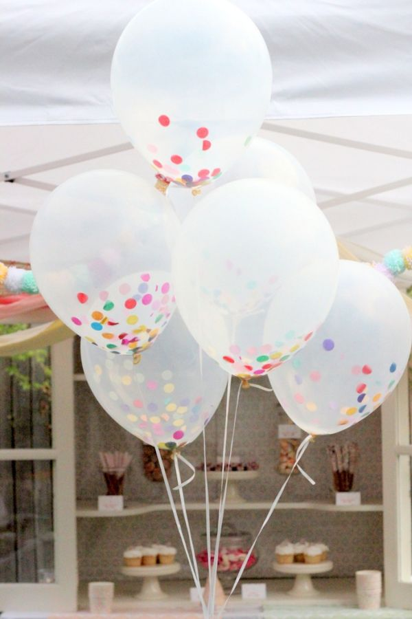 35 budget diy party decorations youll love this summer confetti decorations solutioingenieria