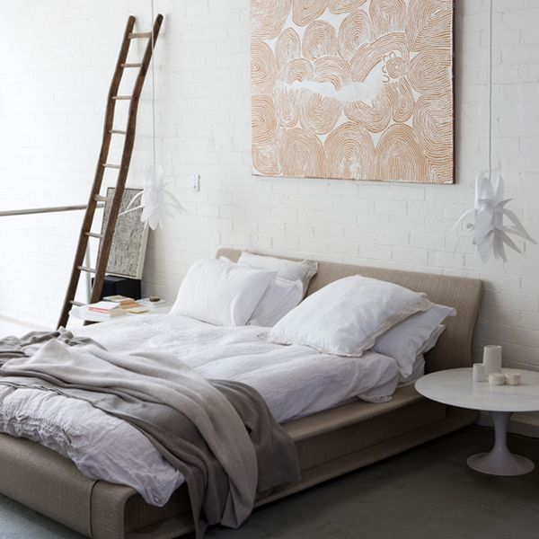 Painting Brick Walls White An Increasingly Popular Trend - Bedrooms brick walls