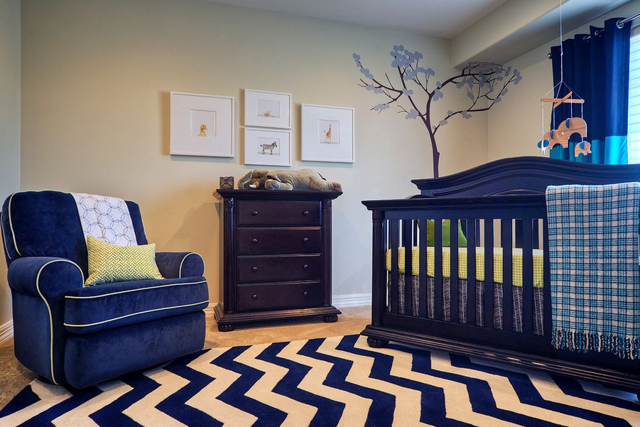 Color psychology for nursery rooms learn how color Calming colors for baby nursery