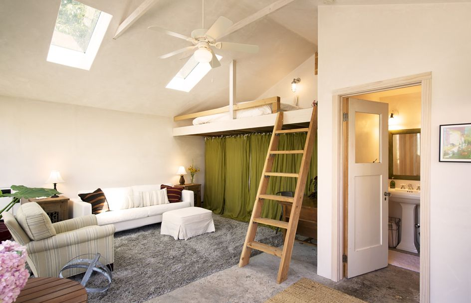 4. Sleeping Loft, Santa Barbara.