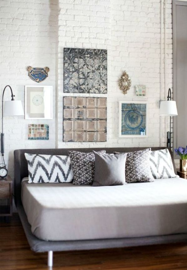 Painting Brick Walls White An Increasingly Popular Trend