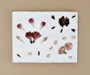 DIY Pressed Flowers Wall Art