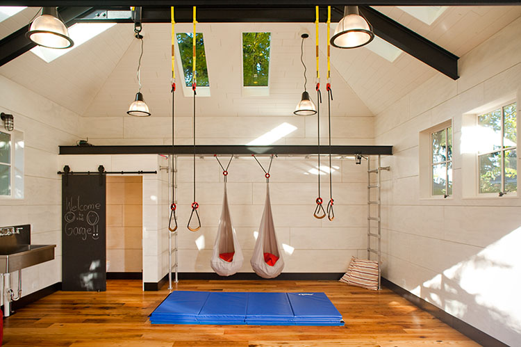 10 garage conversion ideas to improve your home for How much is it to build a basketball gym