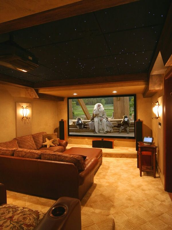 Turn your garage in a home cinema.