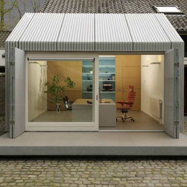 Converted Garage Ideas Part - 45: Create A Suitable Working Place For Youu2026in Your Garage.