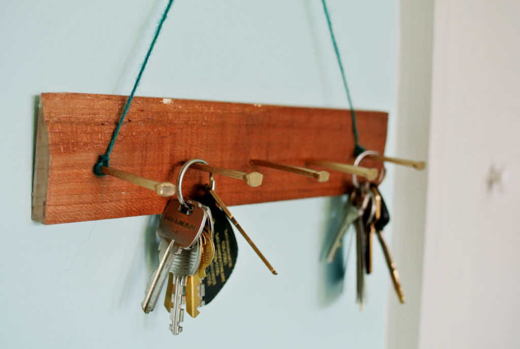 Key Hook Rack For Wall
