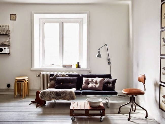 Monochromatic Pad With Brass And Copper Accents For A Rustic Touch