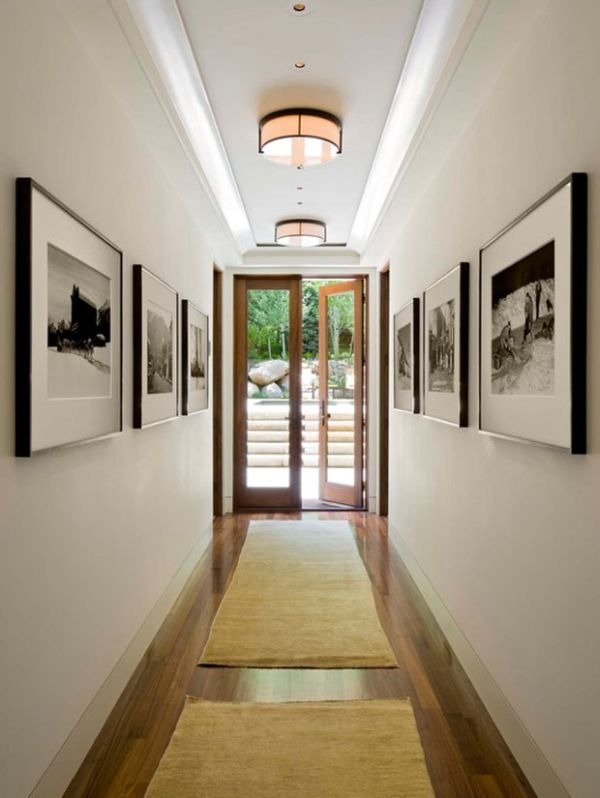 Foyer Artwork Ideas : Easy ways to make your hallways look bigger brighter