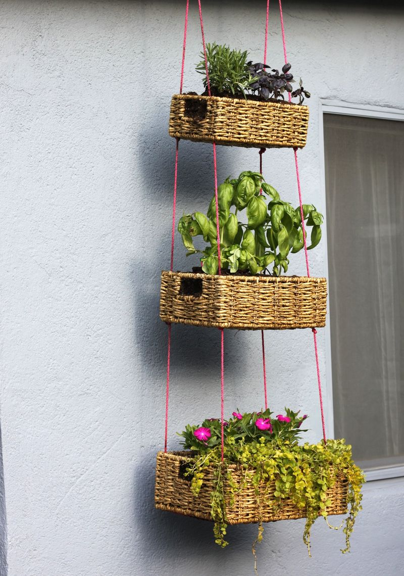 Refresh the outdoor areas with smart diy projects on a budget Ideas for hanging backpacks