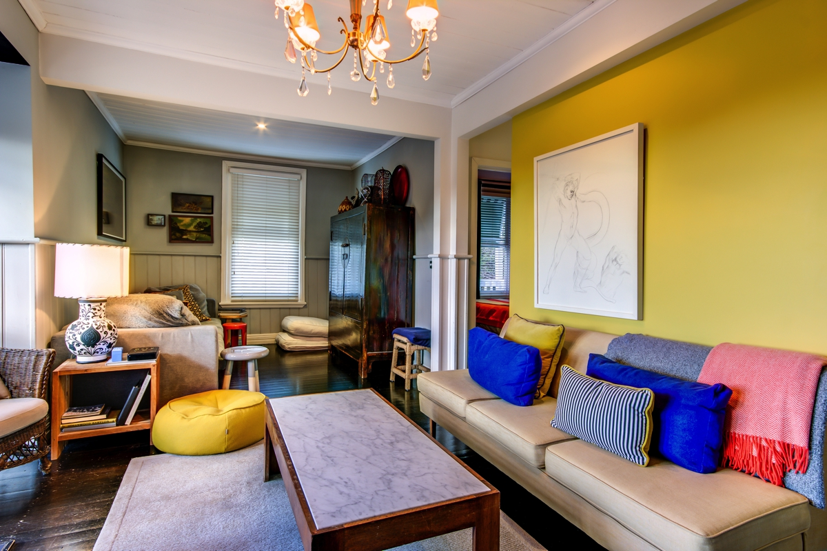 Wall Colour Inspiration: Mixing In Some Mustard: Yellow Ideas & Inspiration