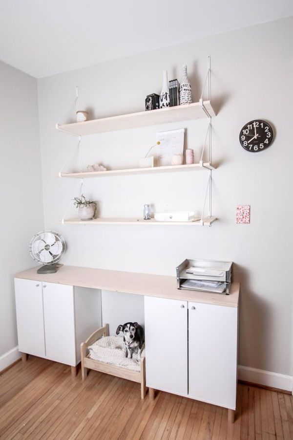 From generic office to stylish and productive home office hacks Home decor hacks pinterest