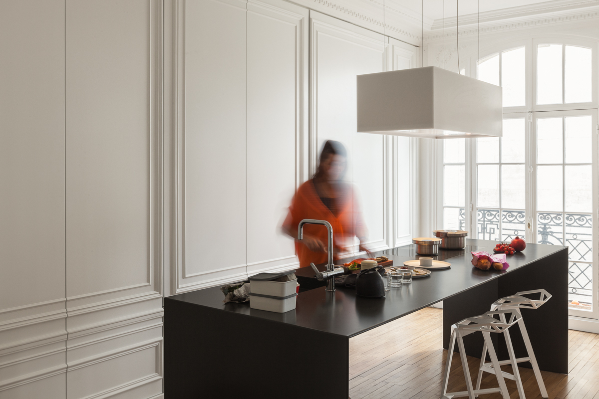Hide Your Kitchen In Plain Sight With The Sleek Design By I - Kitchen architects